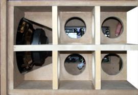 Bafles de madera, plastico, triplay, mdf y aglomerado
